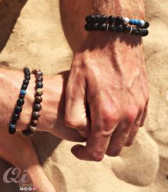 Armband 'glitterline blue'