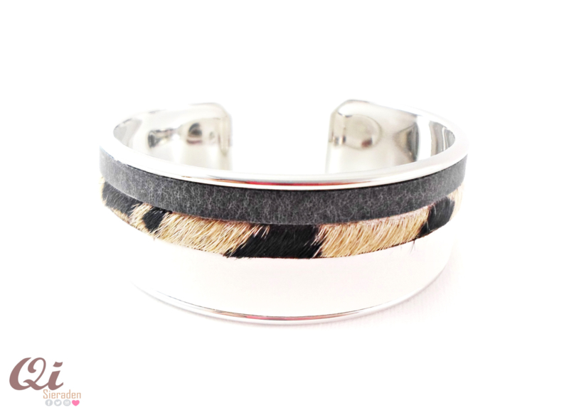 Armband 'white stripe'