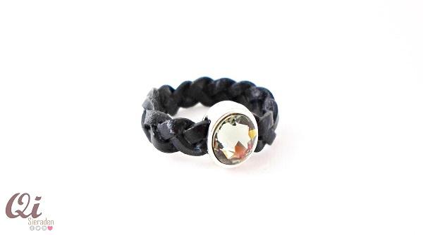 Ring 'black&blue'