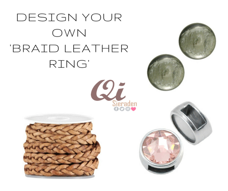 Design your own DQ leather ring!