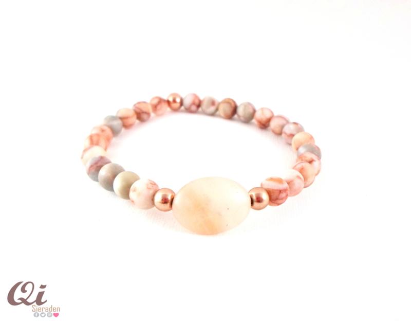 Armbandje 'sweet pink'