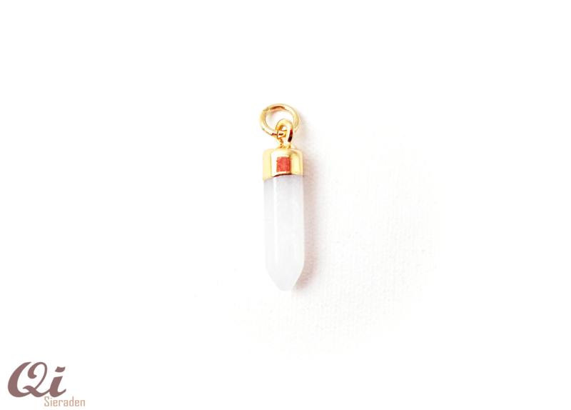 Hanger 'natuursteen wit' ( 1 st)