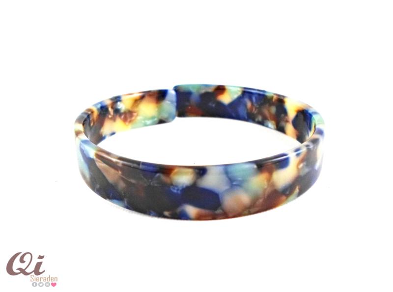 Armband 'resin blue'