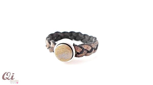 Ring 'shiny silver night'