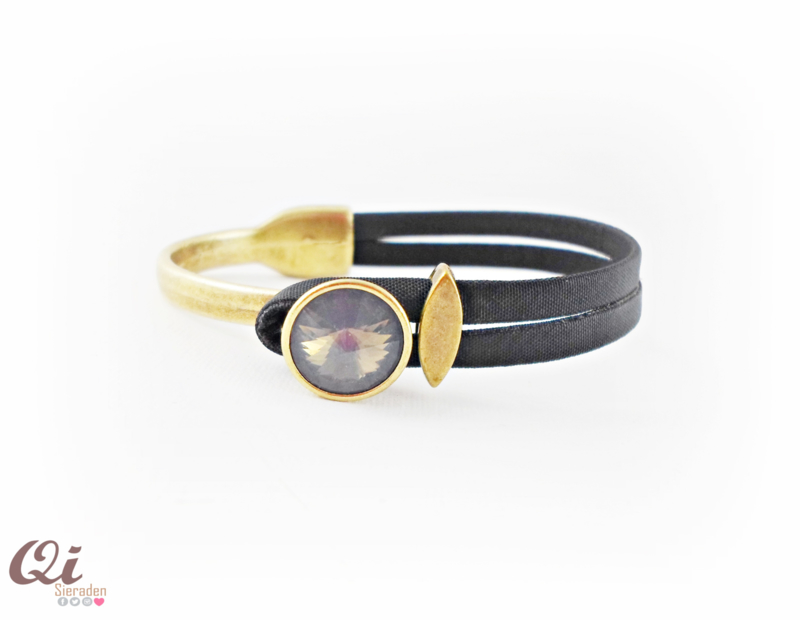 DQ metalen armband