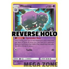 Weezing - 29/68 - Rare - Reverse Holo