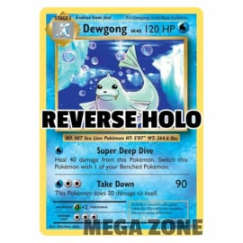 Dewgong - 29/108 - Rare - Reverse Holo