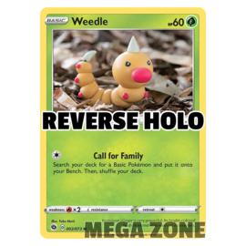 Weedle - 002/073 - Common - Reverse Holo