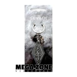 The Elder Scrolls V Skyrim Dragon Symbol Keychain
