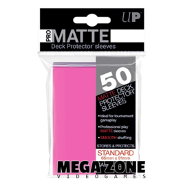 Ultra PRO 50 Pro Matte sleeves / deck protectors Bright Pink