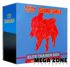 Sword & Shield Elite Trainer Box Zamazenta