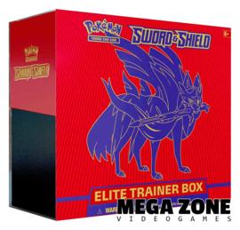 Sword & Shield Elite Trainer Box Zacian