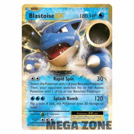 Blastoise-EX - 21/108 - Ultra Rare