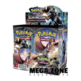 SM3 Burning Shadows Booster Display Box (36 Booster Packs)