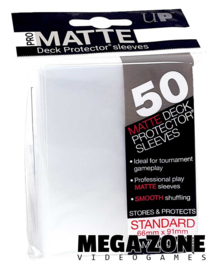 Ultra PRO 50 Pro Matte sleeves / deck protectors Clear