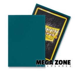 Dragon Shield 100 Standard Matte Sleeves - Petrol