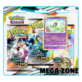 SM12 Cosmic Eclipse 3-Booster Blister Celebi