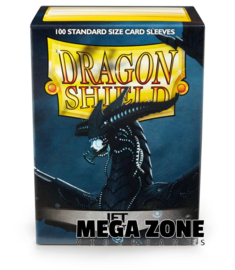 Dragon Shield 100 Standard Matte Sleeves - Jet