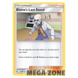 Blaine's Last Stand - 52/68 - Rare