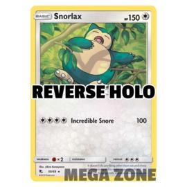 Snorlax - 50/68 - Rare - Reverse Holo