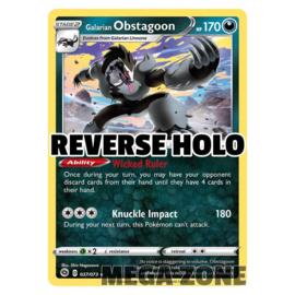 Galarian Obstagoon - 037/073 - Holo Rare - Reverse Holo