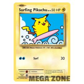 Surfing Pikachu - 111/108 - Secret Rare