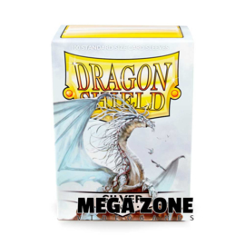Dragon Shield 100 Standard Matte Sleeves - Silver