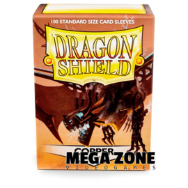 Dragon Shield 100 Standard Matte Sleeves - Copper