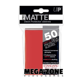 Ultra PRO 50 Pro Matte sleeves / deck protectors Red
