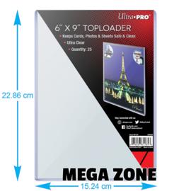 "Ultra PRO 6"" X 9"" Toploader (25)"