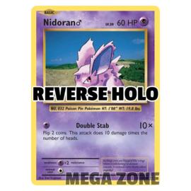 Nidoran♂ - 43/108 - Common - Reverse Holo