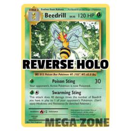 Beedrill - 7/108 - Rare - Reverse Holo