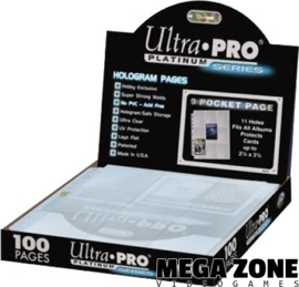Ultra PRO Platinum 9-pocket pages (100)