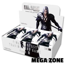 Final Fantasy TCG Opus III (3) Booster Display Box
