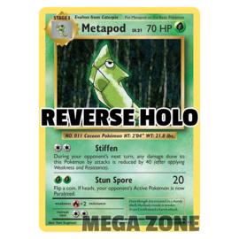 Metapod - 4/108 - Uncommon - Reverse Holo