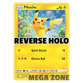 Pikachu - 19/68 - Common - Reverse Holo