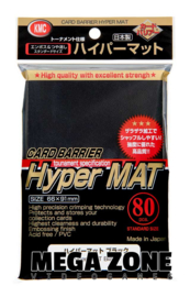 KMC 80 Hyper MAT Black sleeves