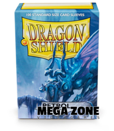 Dragon Shield 100 Standard Matte Sleeves - Petrol
