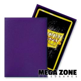 Dragon Shield 100 Standard Matte Sleeves - Purple