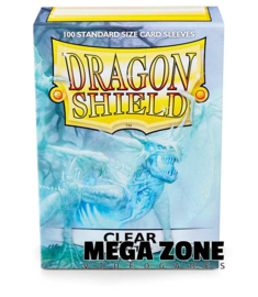 Dragon Shield 100 Standard Matte Sleeves - Clear