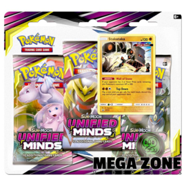 SM11 Unified Minds 3-Booster Blister Stakataka