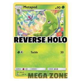 Metapod - 2/68 - Uncommon - Reverse Holo