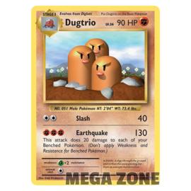 Dugtrio - 56/108 - Rare