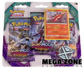 Sun & Moon Guardians Rising 3-Booster Blister Turtonator