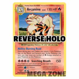 Arcanine - 18/108 - Rare - Reverse Holo