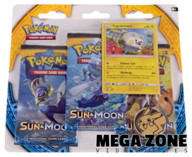 Sun & Moon 3-Booster Blister Togedemaru