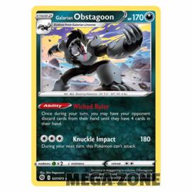 Galarian Obstagoon - 037/073 - Holo Rare