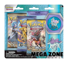 Legendary Beasts Collectors Pin 3 Pack Suicune