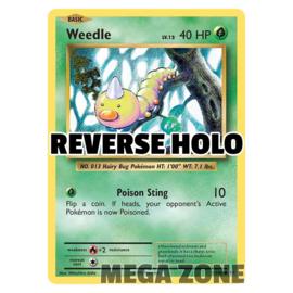 Weedle - 5/108 - Common - Reverse Holo