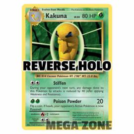 Kakuna - 6/108 - Uncommon - Reverse Holo